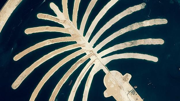 Palmové ostrovy v Dubaji | © Global Spook
